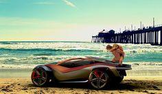 Nissan Beach Buggy on Behance