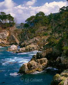Devil's Cauldron, Point Lobos State Reserve, Big Sur, Monterey County, California, by Ed Callaert