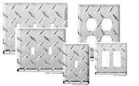 Diamond Plate Outlet Covers For The Garage. Diamond Plate Outlet Covers For The Garage. Garage Theme Bedroom, Car Bedroom, Bedroom Themes, Racing Bedroom, Bedrooms, Man Cave Garage, Garage Bar, Baby Boy Rooms, Baby Room