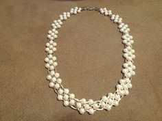 Vintage Faux Pearl Necklace by ZebBotanicalBeauty on Etsy, $30.00