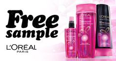 Free Sample Of L�Or�al Nutri-Gloss Shampoo And Conditioner
