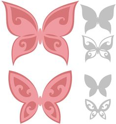Welcome to the Silhouette Design Store, your source for craft machine cut files, fonts, SVGs, and other digital content for use with the Silhouette CAMEO® and other electronic cutting machines. Butterfly Cutout, Butterfly Drawing, Butterfly Crafts, Flower Crafts, Silhouette Curio, Silhouette Cameo Projects, Silhouette Design, Kirigami, Silhouette Online Store