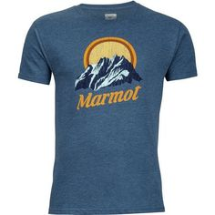 Marmot Men's Pikes Peak T-shirt (Navy, Size XX Large) - Men's Outdoor Apparel, Branded Graphic T's at Academy Sports