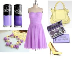"""Violet dream"" by vierocka-hr on Polyvore"