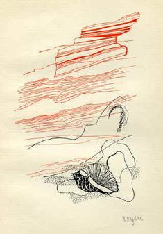 Susanne with the Shell - Toyen-Unknown Shell Game, Max Ernst, Art Academy, Magritte, Art Database, Art Archive, Joan Miro, Surreal Art, Caricature