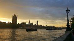 런던 도착! 런던아이를 타기 위해 무브~