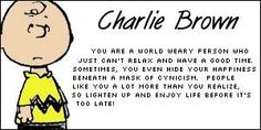 Which Peanuts Character are You - Charlie Brown