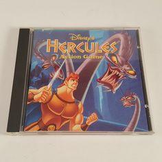 RARE! Disney's Hercules Action Game (PC, 1997) Video Game Windows 95! FREE SHIP!