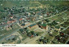 Virginia city Nevada postcard. Hagins collection.