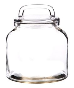 Loop Canister 125 Oz Clear Glass Round Jar Canister with Air Tight Lids for Bathroom or Kitchen Pantry for cookies sugar flour spices coffee soaps Food Storage Container by Home Essentials Beyond >>> To view further for this item, visit the image link. Glass Storage Jars, Food Storage Containers, Jar Storage, Coffee Soap, Kitchen Words, Spiced Coffee, The Right Stuff, Kitchen Pantry, Kitchen Stuff