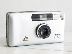 Konica BM-S 100 + Samples! functional vintage compact analog point&shoot film camera, Super Big Mini, Wide lens, QuartzDate, Case, Handstrap