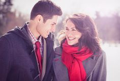 Romantic Engagement Photography example
