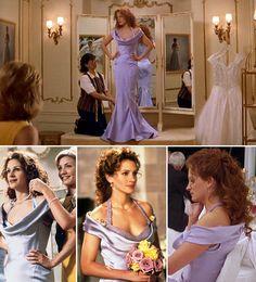vestido julia roberts o casamento do meu melhor amigo