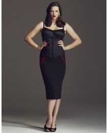 """Pencil skirt. Love it but dang it....65.00? This is why I want to create a """"Plus"""" (hate that word) size line."""