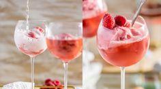 Recept: Eurovision-drink med prosecco och hallonsorbet   Baaam