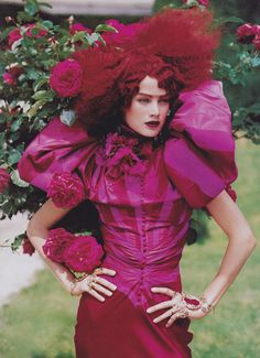 John Galliano's Best Moments in VogueCarolyn Murphy in Christian Dior Haute Couture by John Galliano