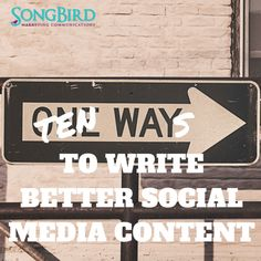 "Did you know there is a right way and a wrong way to ""do"" social media for your business? Most of the time, it actually comes down to the content you're posting. Writing social media content is…"