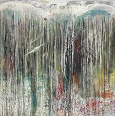 'The Waterfall Series: Portrait of a Waterfall', 1987-88 – Pat Steir (b. 1938)