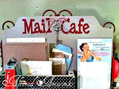 Snail Mail Cafe - invite everyone over for a letter writing brunch or evening.  Way fun!