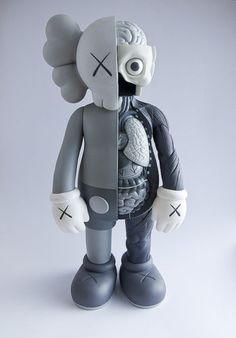16-inch-Kaws-Dissected-Standing-Companion-High-Quality-Action-Figure-Toy-gray
