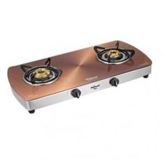 SUNFLAME 2B SS CRYSTAL METAL ART COPPER  GLASS COOK TOP