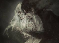 Alina and the Darkling from the Grisha Trilogy. By Nanfe. Character Inspiration, Character Art, The Darkling, The Grisha Trilogy, Hades And Persephone, Couple Art, Fantasy Characters, Fantasy Art, Art Drawings