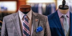 Displaying Your Merchandise: The Retailer's Guide To Mannequins and Body Forms Latest Mens Fashion, Modern Fashion, Women's Fashion, Mens Suits Online, Real Men Real Style, Visual Merchandising Displays, Suits You, Men's Suits, Brand Story
