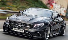 Mercedes S-Klasse Coupé - Neben diesem Bodybilder von Mercedes S-Klasse Coupé muss das Normalmaß von 2,1 Meter Breite geradezu hemdsärmelig wirken. Derart massiv ist das Aerodynamik-Kit, das Prior Design für das Luxusschiff entworfen und auf der ...