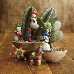 I love these Mexican Ornaments!