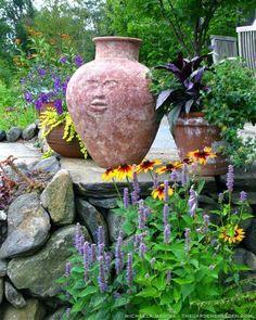 Pots in the Garden: Container Design...  Photography & Design: Michaela Medina - thegardenerseden.com