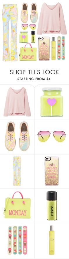 """Pastel Sweaters"" by bysc ❤ liked on Polyvore featuring Skin, STELLA McCARTNEY, Emilio Pucci, Casetify, Alberta Ferretti, MAC Cosmetics and Espa"