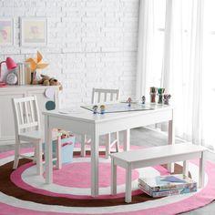 Kid Kraft Farmhouse Table U0026 4 Chairs Espresso   21453 | Blake | Pinterest |  Farmhouse Table, Kid Kraft And Espresso