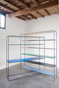 Muller Van Severen; 'Strangled Rack' Shelves.