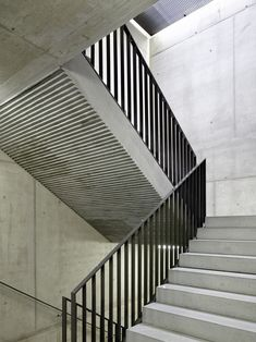 Newest No Cost Carpet Stairs design Style Among the fastest ways to revamp your tired old staircase is to cover it with carpet. Stairs And Staircase, Stair Handrail, House Stairs, Carpet Stairs, Contemporary Architecture, Architecture Details, Interior Architecture, Railing Design, Staircase Design