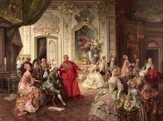 Итальянский художник Cesare Auguste Detti (1847-1914)
