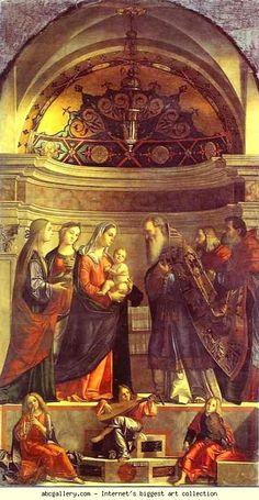 Vittore Carpaccio. Presentation in the Temple.