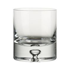 Direction 9 oz. Double Old-Fashioned Glass | Crate & Barrel $10