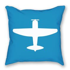 This airplane pillow is the perfect fit for your airplane themed nursery. https://www.littlepilotslounge.com/collections/pillows/products/bright-airplane-pillow?variant=16822572614