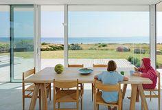Dwell - A Scandinavian Summer Home Built for Surf, Sports, and Sun