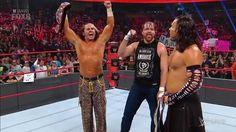 Dean Ambrose and Matt & Jeff Hardy. RAW 29/Mayo/2017 Dick27Ambrose