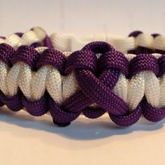 epilepsy ribbon...could we do this for autism awareness?!