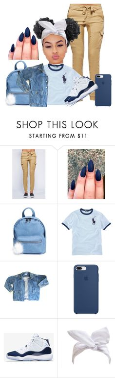 """""""✋✋"""" by polokitty ❤ liked on Polyvore featuring BP., Ralph Lauren, GUESS, Apple and NIKE"""