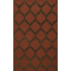 Dalyn Rug Co. Bella Brown Area Rug Rug Size: 5' x 8'
