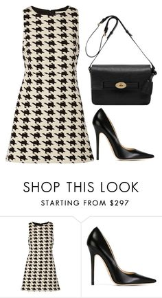 """Untitled #2"" by minimalsimplicity ❤ liked on Polyvore featuring Alice + Olivia, Jimmy Choo and Mulberry"