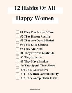 12 Habits of All Happy Women What To Do Before You Travel Before I go on a brand new trip, whatever the reason, stress does not fall o Motivacional Quotes, Life Quotes, Year Quotes, Success Quotes, Happy Women Quotes, Habit Quotes, Successful Women Quotes, People Quotes, Lyric Quotes