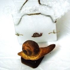 Sabó artesà en forma de Caragol