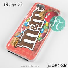 m & m red Phone case for iPhone 4/4s/5/5c/5s/6/6 plus
