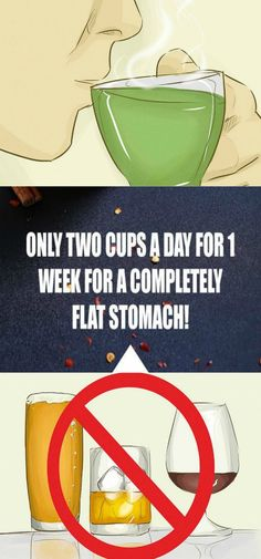Only Two Cups A Day For 1 Week For A Completely Flat Stomach!How to Get a Flat Stomach. Contrary to popular belief, getting a flat stomach doesn't depend solely on exercise – in fact, eating healthy and Lose Belly Fat, Lose Fat, Diet Plans To Lose Weight, How To Lose Weight Fast, Fitness Diet, Health Fitness, Fitness Goals, Diy Natural Beauty Recipes, Burn Calories Fast