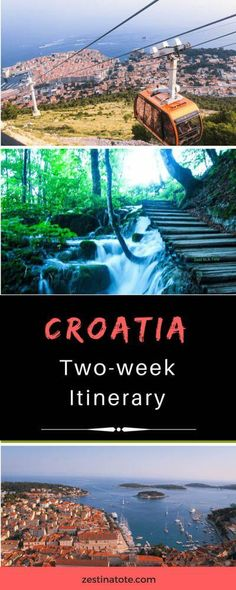 Follow my two-week Croatia itinerary to visit UNESCO Heritage sites, relax in beautiful islands, explore medieval cities and national parks.