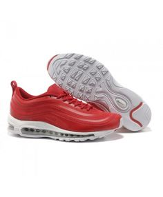 reputable site 7ed8b eed70 Nike Air Max 97 Hyperfuse Red White Mens Shoes